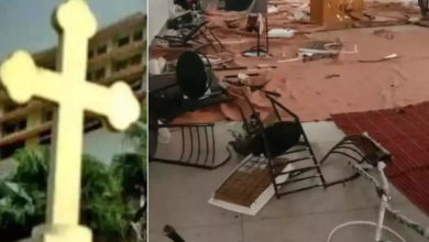 Photo of mob attacked Christian house of prayer: Attack with calls from Jai Shriram;  Vandalized Christian Chapel;  BJP Responds: Mafia Attacked Christian House of Prayer in Haridwar District Roorkee