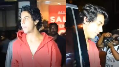Photo of An old video of Aryan Khan helping poor children goes viral on social media