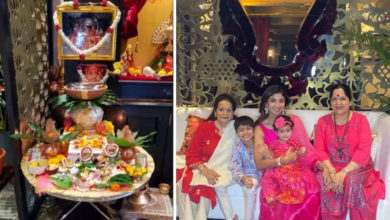 Photo of Shilpa Shetty first did Ghatasthapana in Norte, did special work with Mataji in Navratri