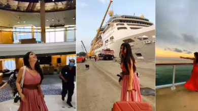 Photo of The actress who embarked on the same cruise as Aryan Khan is beautiful and gorgeous inside.