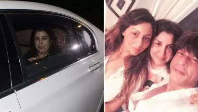 """Photo of Hearing Aryan's bail plea today, Farah wished Gauri on her birthday and said, """"Get the best gift."""""""