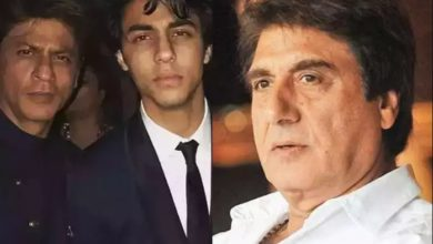 Photo of Raj Babbar came in support of Aryan and Shahrukh, said- 'Trouble can't stop their soul'