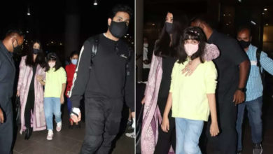 Photo of Aishwarya Rai returned from Dubai with husband and daughter, father-in-law to celebrate Amitabh Bachchan's birthday!