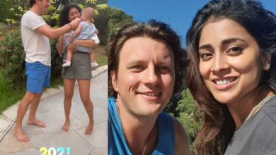 Photo of Shriya Saran, who became a mother in 2020, surprised the fans by announcing that her daughter was one year old.