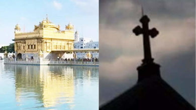 Photo of 'Forced conversion to Christianity';  Sikh leader for the national campaign