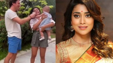 Photo of Even though her husband is a foreigner, Shriya Sarne gave her daughter an Indian name, a relationship with Lord Krishna.