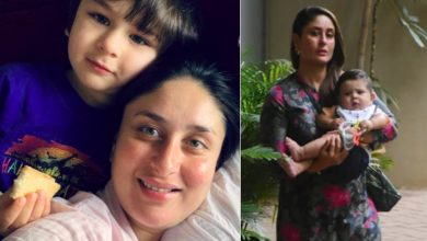 Photo of A lot has changed since Jhanna's birth. Kareena's eldest son Taimur has become responsible