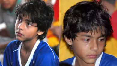 Photo of Aryan Khan cried a lot after losing the match in school, old pictures went viral