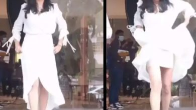 Photo of Sushmita Sen fell victim to Oops moment while posing, took the position immediately