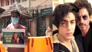 Photo of Shahrukh's fan reaches court for Aryan Khan's release, bail hearing continues