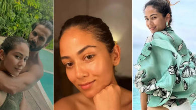 Photo of Mira Rajput showed bold style in Maldives, shared selfie with husband Shahid and asked questions