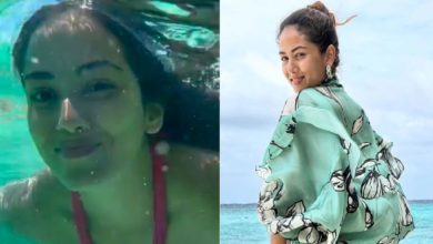 Photo of Shahid's wife Mira Rajput becomes a mermaid in Maldives, enjoys swimming under water
