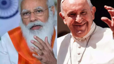 Photo of pm modi meets pope francis: modi-pope meeting in days?  Prime Minister Narendra Modi is expected to meet Pope Francis at the Vatican.