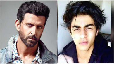 Photo of Hrithik Roshan has started a new debate by sending a letter to Aryan Khan!